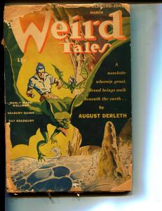 Weird Tales-Pulp-3/1944-Ray Bradbury-August Derleth