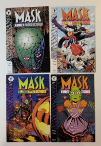 The Mask: The Hunt For Green October #1-4 Complete Set Dark Horse 1995 VF/NM