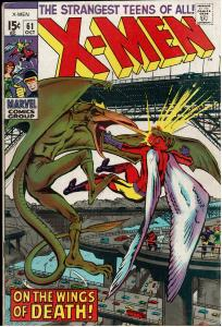 X-Men #61, 5.5 or Better, Signed by Neal Adams