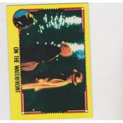 1990 Topps DICK TRACY-ON THE WATERFRONT #72