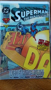 Superman the Man of Steel #30 (DC, 1994) Condition: NM+ Collectors edition