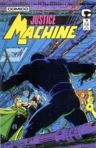 Justice Machine (Comico) #14 VF/NM; COMICO | save on shipping - details inside