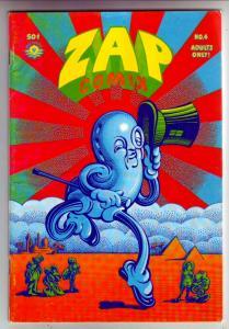 Zap #4 (Jan-68) FN- Mid-Grade Mr. Natural, Flakey Font, Wonder Wart Hog, the ...