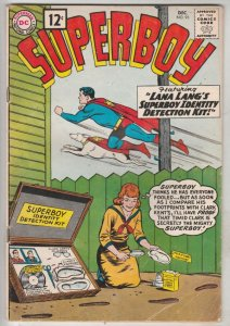 Superboy #93 (Dec-61) FN+ Mid-High-Grade Superboy