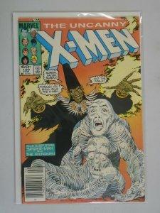 Uncanny X-Men #190 Newsstand edition 6.0 FN (1985 1st Series)