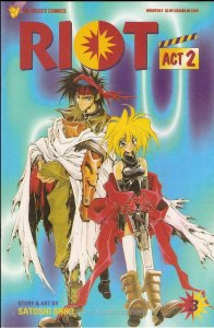 Riot, Act 2 #3 VF/NM; Viz | save on shipping - details inside