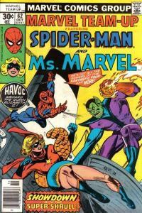Marvel Team-Up (1972 series) #62, Fine+ (Stock photo)