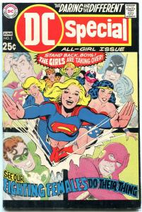 DC Special #3 1969- Female centered issue- Wonder Woman- Supergirl VF-
