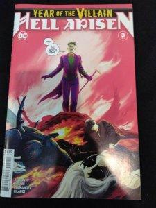Year of the Villain Hell Arisen #3 of 4 Second Print 1st Full Punchline