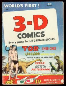 Tor 3-D Comics #2 1953- Joe Kubert - St John Comics G