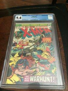 UNCANNY X-MEN #95 CGC 9.4 - HIGH GRADE BRONZE AGE MARVEL -