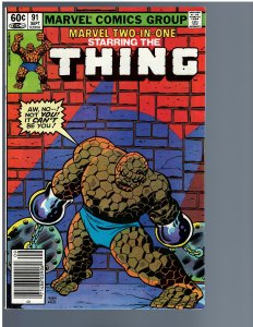 Marvel Two-in-One #91 (1982)
