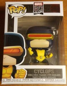 Funko Pops Marvel 80 Years Cyclops #502