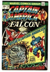CAPTAIN AMERICA #178 Falcon cover-comic book Marvel VF