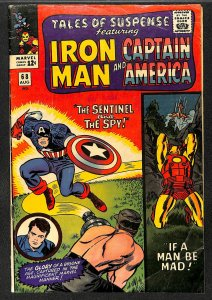 Tales Of Suspense #68 GD+ 2.5 Iron Man