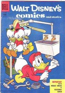 Comics and Stories, Walt Disney's #181 (Oct-55) VG Affordable-Grade Donald Du...