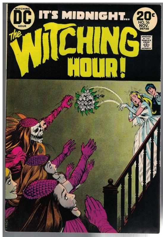 WITCHING HOUR 36 FN-  Nov. 1973