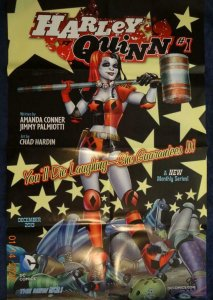 HARLEY QUINN #1 Promo Poster, 22 x 34, 2013, DC Unused more in our store 466