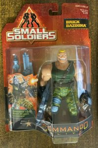 SMALL SOLDIERS: BRICK BAZOOKA Action Figure SEALED on Card! Kenner, 1998