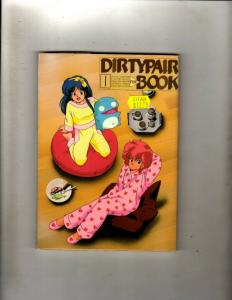4 Anime Manga Books Dirtypair Book 1 Outlanders Jump Comics 4 & 5 Japanese JF30
