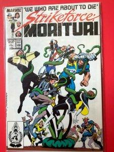 STRIKEFORCE MORITURI V1 #5 MARVEL 1986 / NM QUALITY