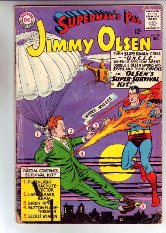 Superman's Pal Jimmy Olsen #89 (Dec-65) GD Affordable-Grade Jimmy Olsen