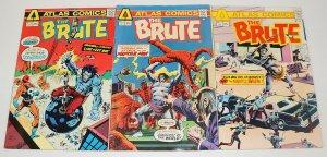 the Brute #1-3 FN complete series - atlas comics 1975 bronze age set lot 2