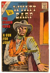 Wyatt Earp #38 1961- Charlton Western-VG
