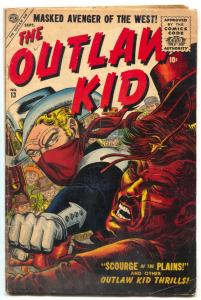 The Outlaw Kid #13 1956- Atlas Western Comic- Maneely - VG