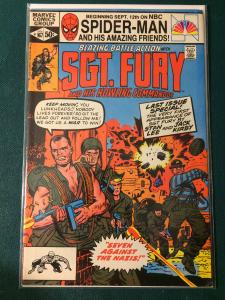 Blazing Battle Action #167 with Sgt Fury and his Howling Commandos FINAL ISSUE!