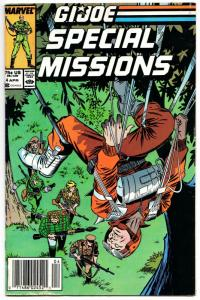 GI Joe Special Missions #4 (Marvel, 1987) VG