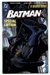 BATMAN #608 JIM LEE-HUSH-Special Edition Toy Reprint-RARE
