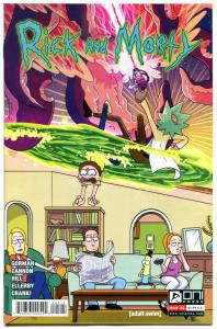 RICK and MORTY #1 2 3, 5 6, 8 9 10 11 12-38, NM, Grandpa, from Cartoon 2015, B
