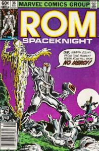Rom (1979 series) #36, VF+ (Stock photo)