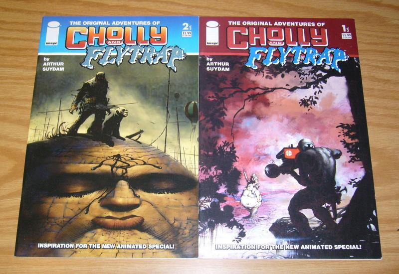 Original Adventures of Cholly and Flytrap #1-2 VF/NM complete series - suydam