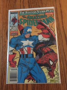 Nice amazing spiderman comic lot. Appearances by Venom, Cap, 2nd Carnage.