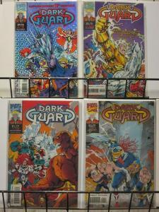 DARK GUARD 1-4 Marvel UK heroes versus MyS-TECH