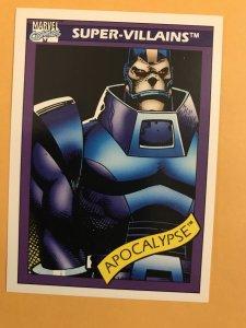 APOCALYSPE #80 : 1990 Marvel Universe Series 1 card, NM/M,  X-Men