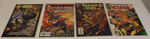 MARVEL COMICS MIXED LOT-4 Comics ft Wolverine & Another Character F/VF (SIC529)