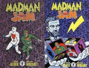 MADMAN JAM (1998 DH) 1-2  Allred & Mireault  COMPLETE!