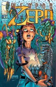 Weapon Zero (1996 series) #6, NM- (Stock photo)