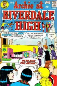 Archie at Riverdale High #8 VG; Archie | low grade comic - save on shipping - de