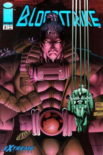 Bloodstrike (1993 series) #6, VF- (Stock photo)