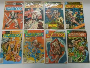 Warlord lot 80 different from #2-102 avg 7.0 FN VF (1976-84 1st DC Series)