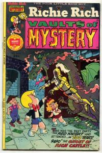 Richie Rich Vault of Mystery #6 1975- Ghost of Rich Castle FN