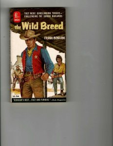 3 Books The Wild Breed Stampede Utterly Mad Western Mystery Thriller JK13