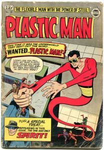 Plastic Man #18 1964- Spirit- Candy- Eisner G