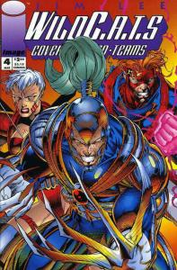 WildC.A.T.s #4 VF/NM; Image | save on shipping - details inside
