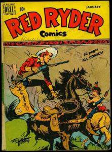 Red Ryder Comics #78 1950- Fred Harman- Dell Western VG