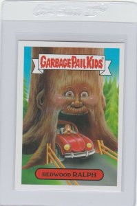 Garbage Pail Kids Redwood Ralph 12a GPK 2016 American As Apple Pie In Your Face
